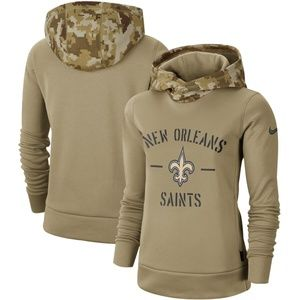 Women's New Orleans Saints Pullover Hoodie